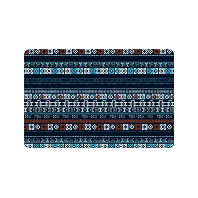 InterestPrint Ethnic Boho Anti-slip Door Mat Home Decor, Trible Art Indoor Outdoor Entrance Doormat Rubber Backing