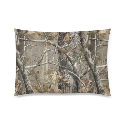 InterestPrint Realtree Camo Pillow Cases Covers Standard Size Pillowcase 20 x30  Twin sides