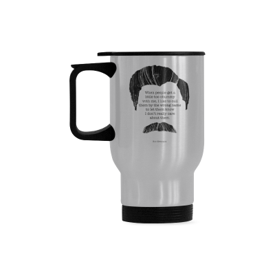 Us 1899 Interestprint Kitchen Dining Funny Quote Ron Swanson Stainless Steel Travel Mug Bottle Silver 14 Oz Ron Swanson Quote When People Get A