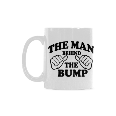 InterestPrint - The Man Behind The Bump - 11 OZ Coffee Mugs