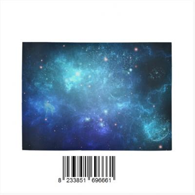 InterestPrint Sweet Home Modern Collection Custom Space Galaxy Indoor Soft Carpet Area Rug 5'3 x4'