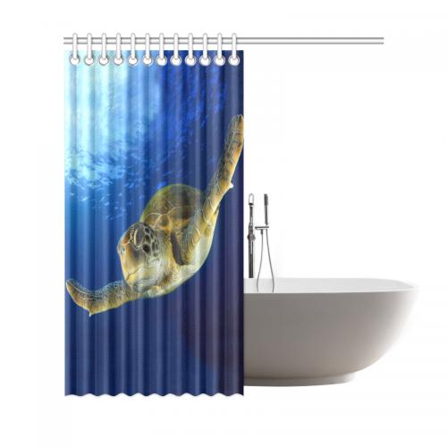 InterestPrint Underwater World Deep Ocean Home Decor, Green Sea ...