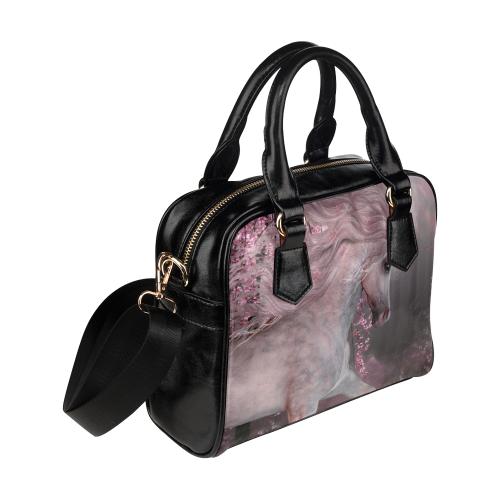 Ethel Ernest Unicorn Winter Wonderland Womens Purse PU Leather Shoulder Tote Bag