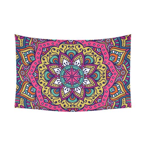 Interestprint Indian Tribal Hippie Hippy Buddhist Lotus Flower