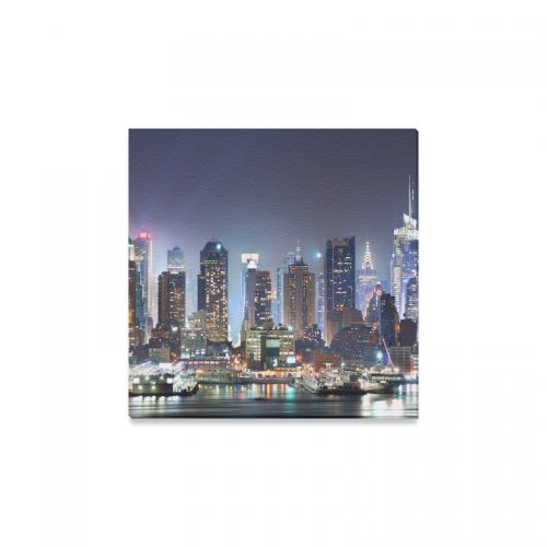 InterestPrint New York City Manhattan Canvas Wall Art Print Painting Wall  Hanging Artwork Ready To Hang For Living Room Bedroom Dining Room Home  Office Bar ...