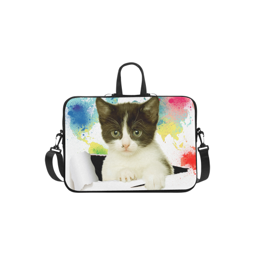 419e763704a7 US$ 37.99 InterestPrint Custom Funny Cat Scratches the Watercolor World Map  13 - 13.3 /Macbook Pro Air 13 Inch Laptop Sleeve Case Bags Skin Cover for  ...