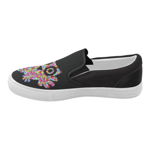 4cfb537b4faf2b InterestPrint Cute Owl Casual Slip-on Canvas Women s Fashion Sneakers Shoes
