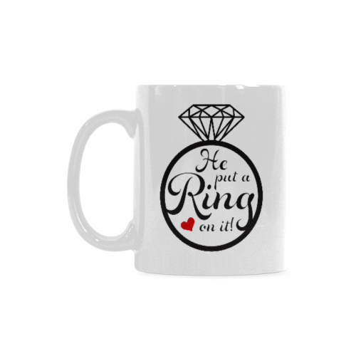 Us17 Engagement With Ounce Ring Coffee Quotes A White Planning 11 Travel SayingsWedding On Ceramic 59 Funny Cup Put It Interestprint Mug He YI7gvb6fy