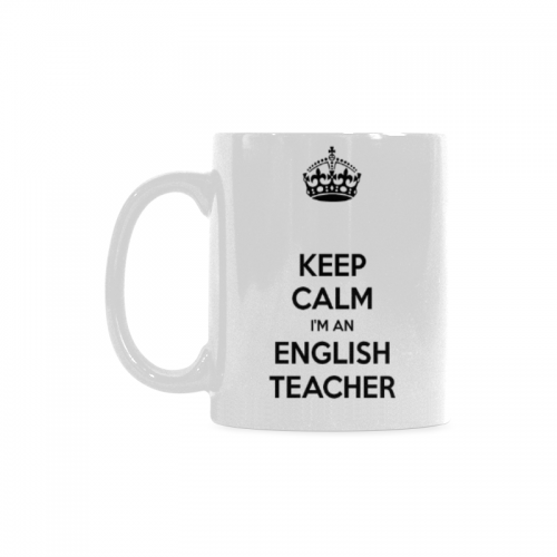 Coffee Keep 59 English Teacher An Oz 11 I'm Interestprint Us17 Mugs Calm QdrhCxts